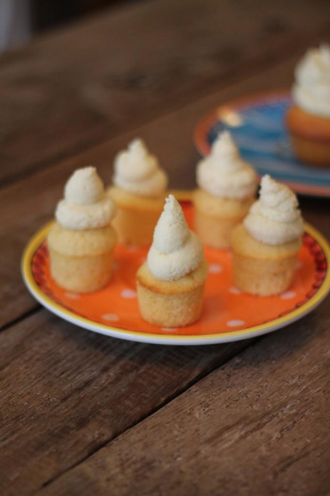 Vanille Cupcake Türmchen