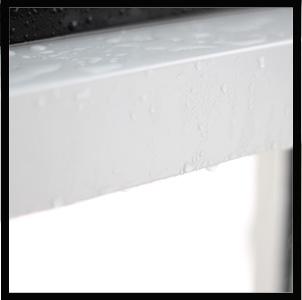Wasser Fensterbank