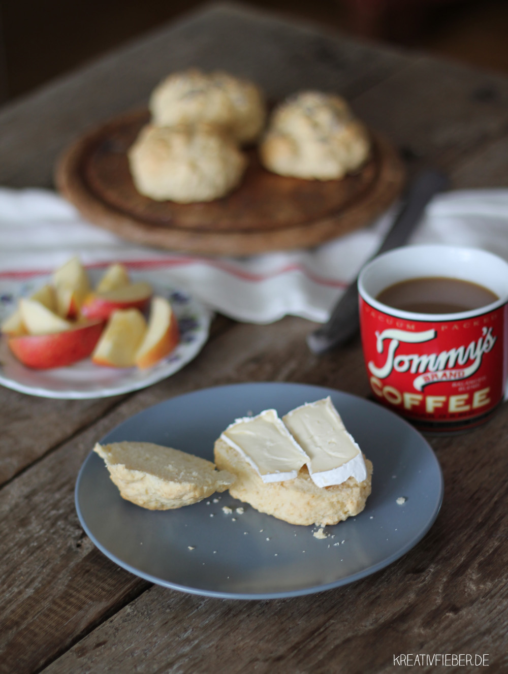 Joghurtbrötchen Frühstück