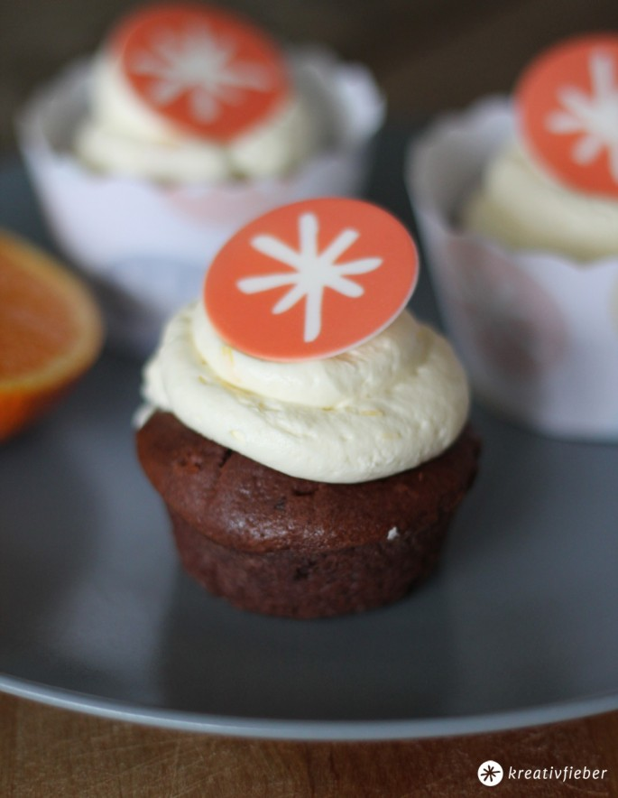 Schokoladen Cupcake ohne Wrapper