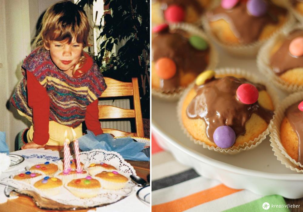 Smarties Kuchen damals und heute