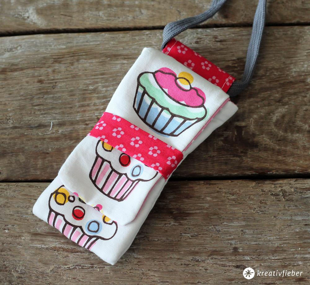 cupcakes smartphonetasche