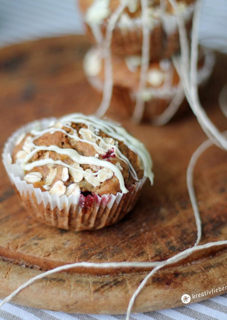 apfel cranberry muffin