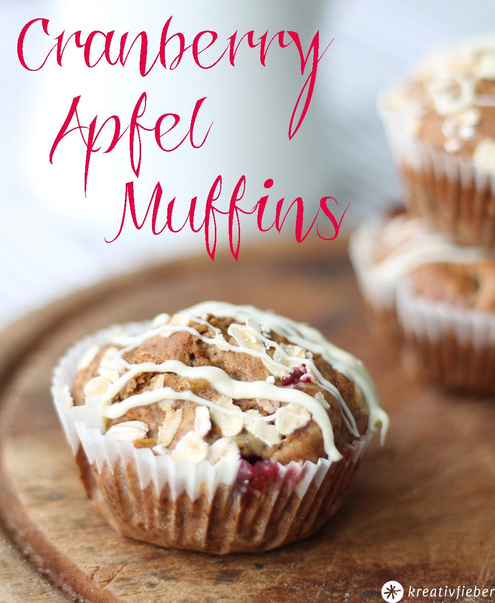 sonntagskuchen cranberry apfel muffins rezepte ohne zuckerzusatz. Black Bedroom Furniture Sets. Home Design Ideas