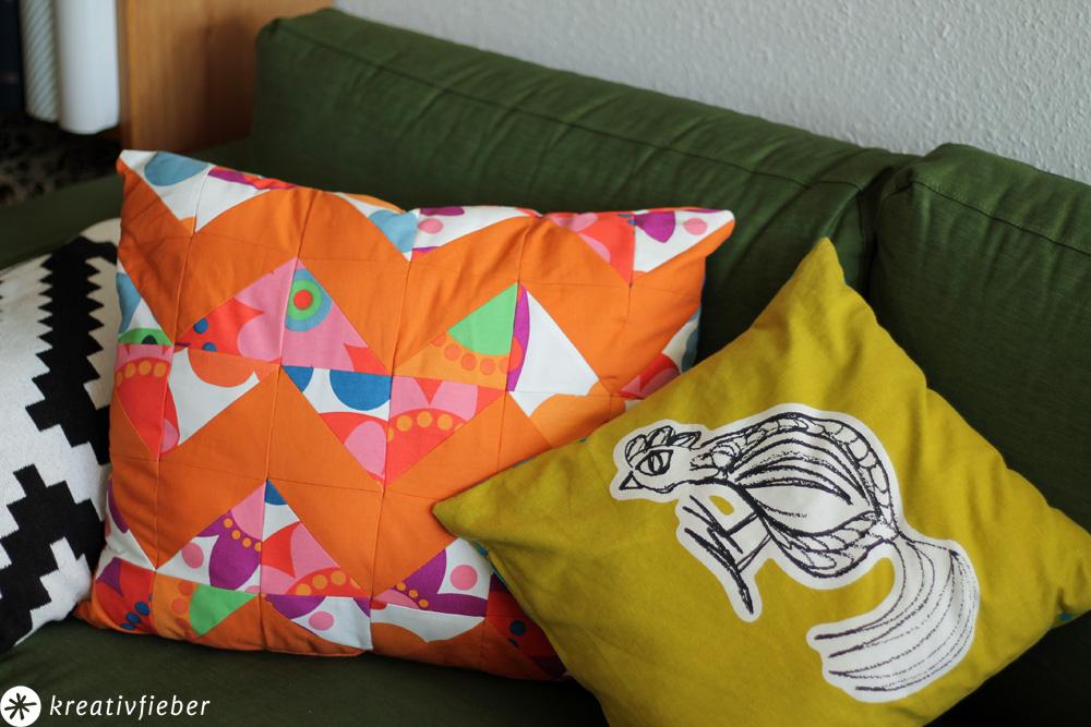 diy chevron patchwork kissen schritt f r schritt anleitung. Black Bedroom Furniture Sets. Home Design Ideas