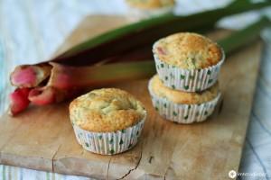 rhabarber frischkäse muffins
