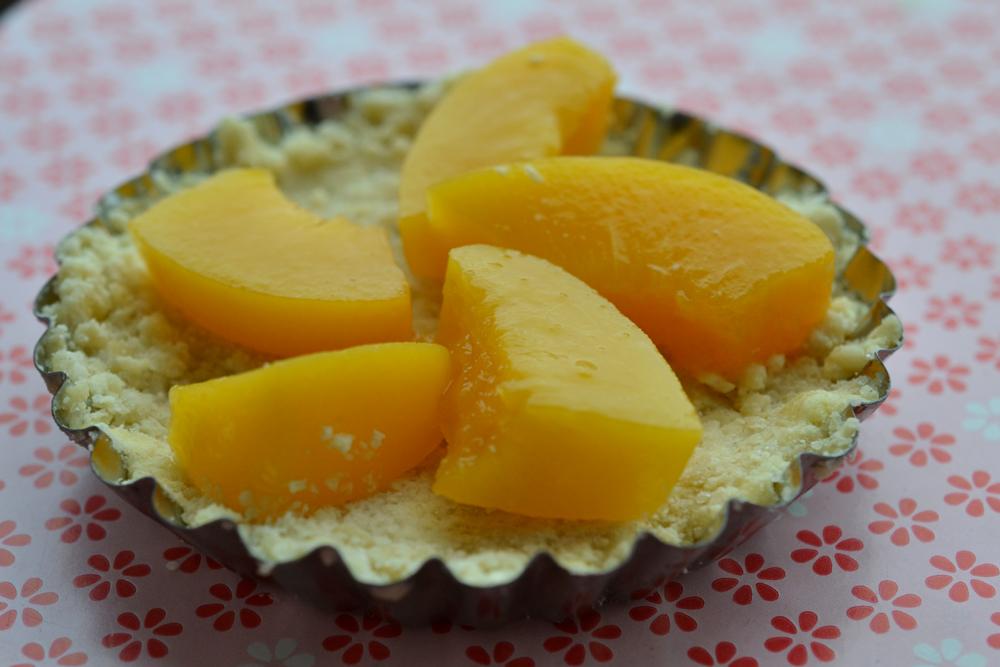 pfirsich törtchen