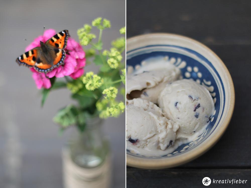 Leckerschmecker Blaubeer Cheesecake Eis Eis Selbermachen