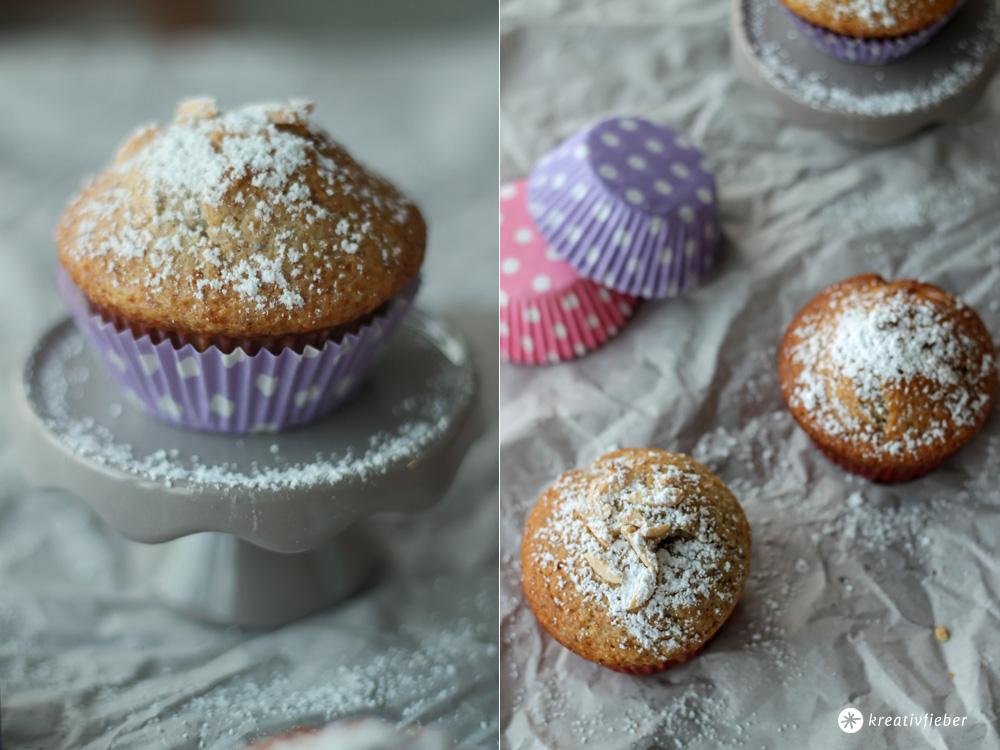 nektarinen mandel muffins backidee