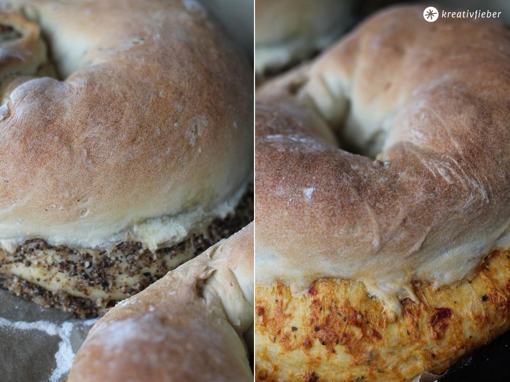 gefüllte Brote Rezept