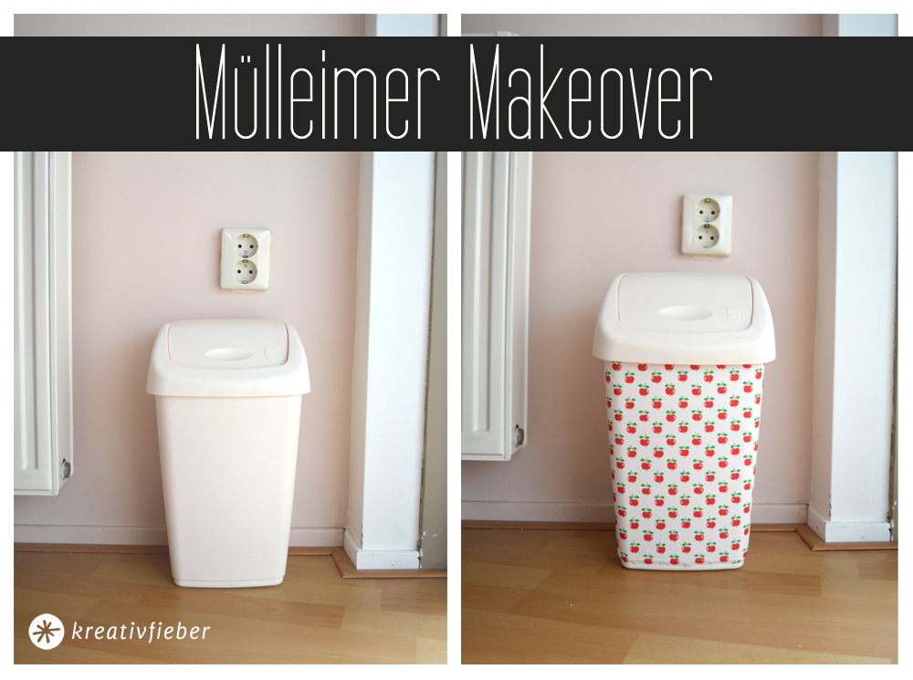 mülleimer makeover tutorial