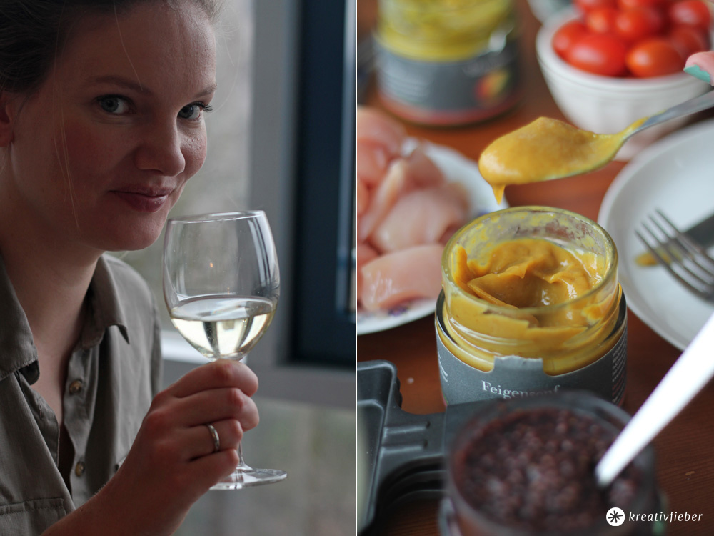 raclette rezepte mit fruchtsenf