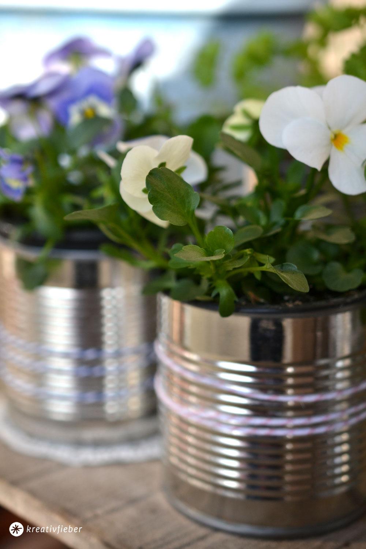 Diy Blumentopfe Aus Konservendosen