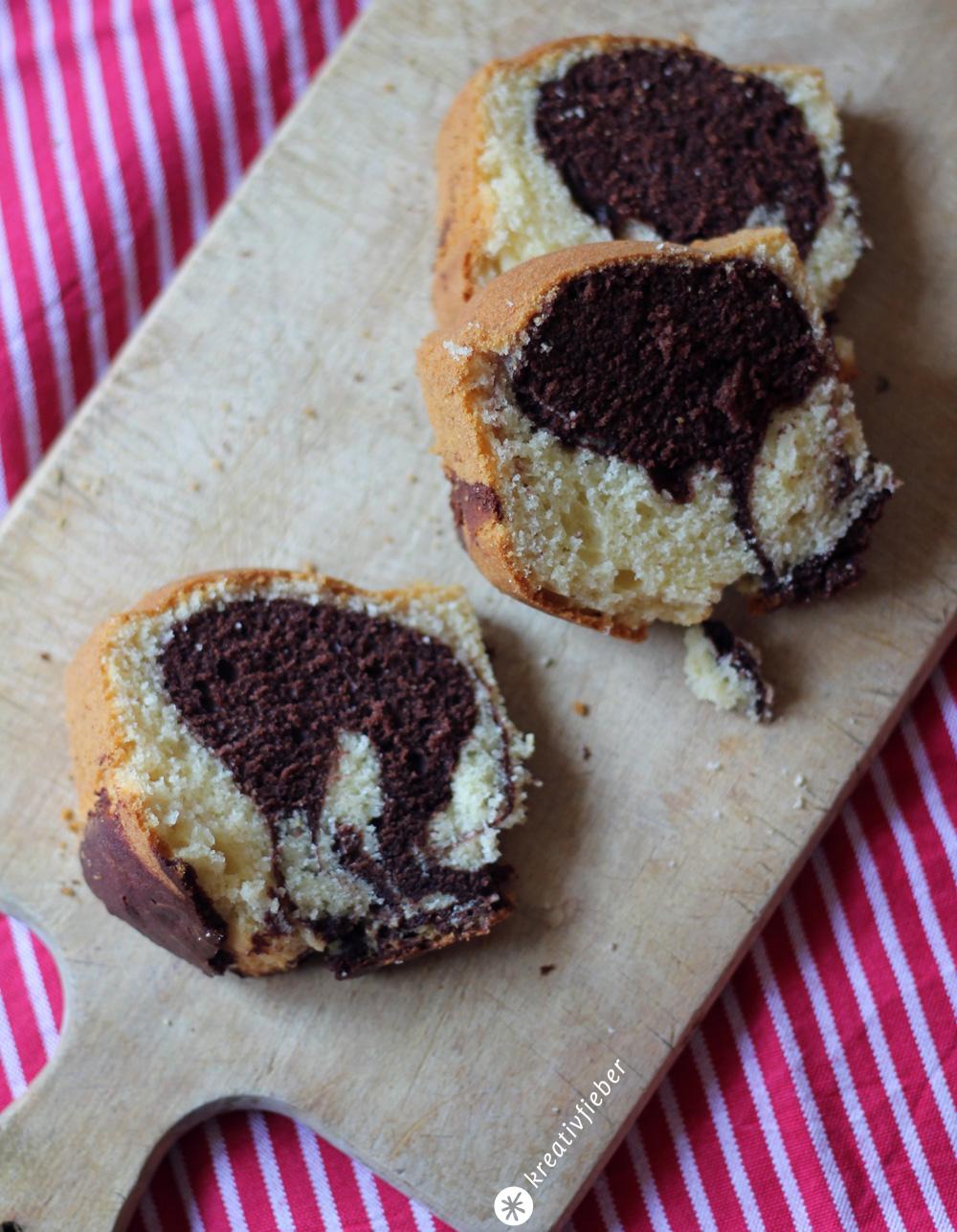 Sonntagskuchen Marmorkuchen Nach Uromas Rezept Backideen