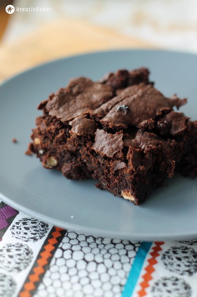 schoko haselnuss brownies rezept