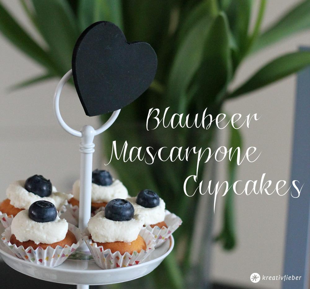 blaubeer mascarpone cupcakes rezept