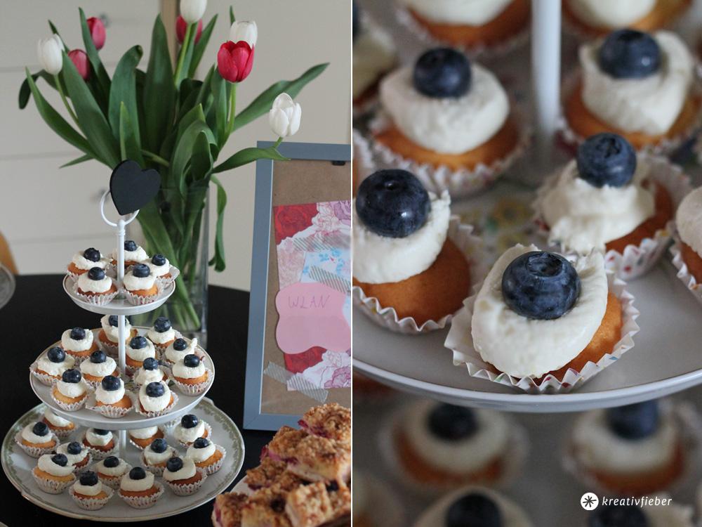 blaubeer mascarpone cupcakes