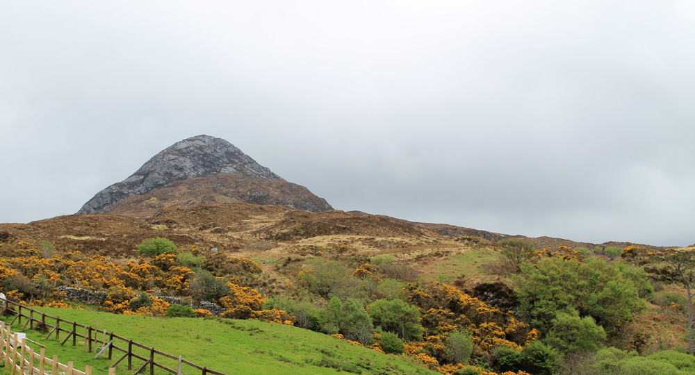 connemara national park diamont hill