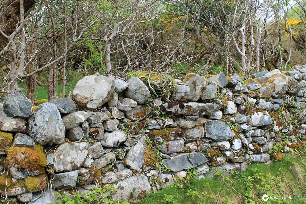 connemara national park steinmauer