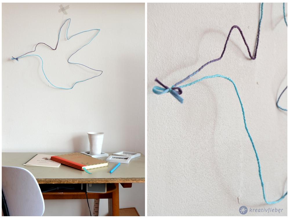 DIY: Kolibri aus Draht