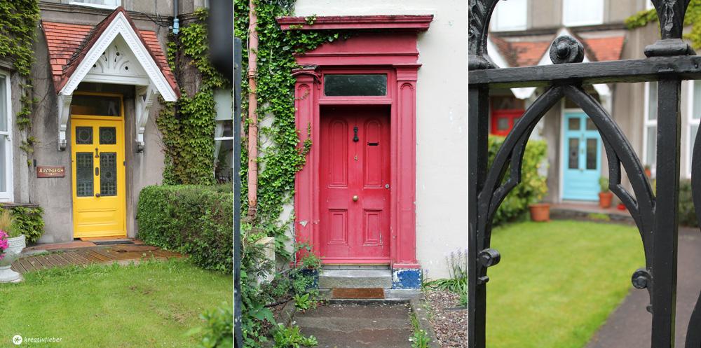 Bunte Türen in Irland, Cork