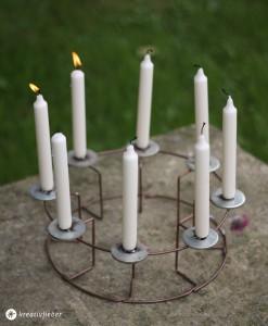 DIY Kerzenständer Upcycling