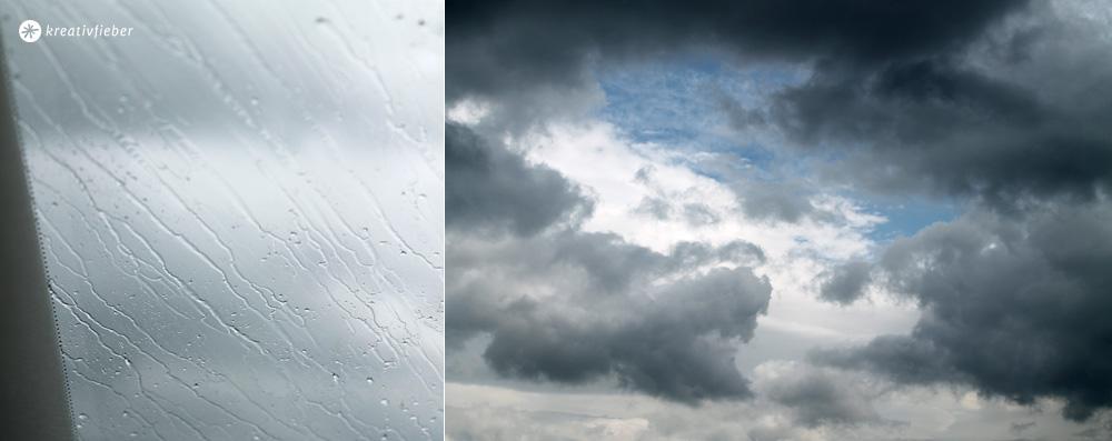 Regen auf dem Weg nach Kilkenny