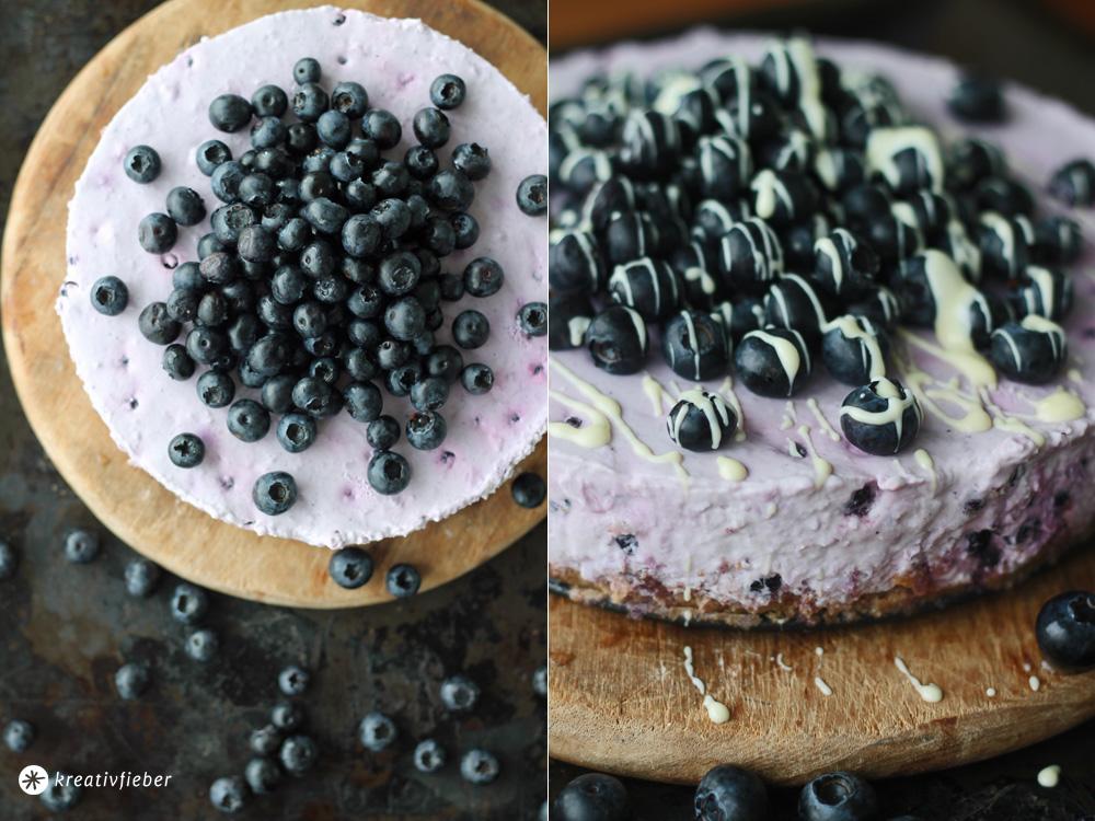 Blaubeer Joghurt Torte Sommertorten Rezept