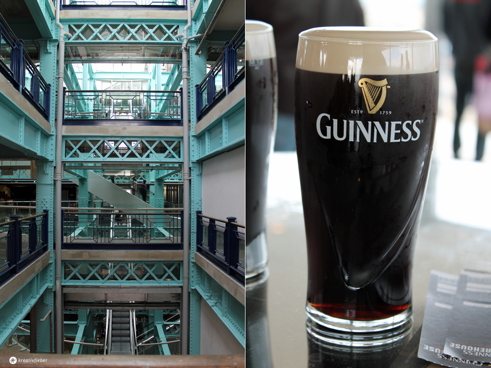 guinness storehouse dublin irland roadtrip