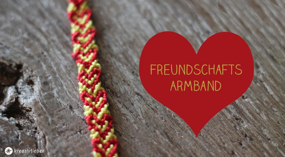 diy freundschaftsarmband mit herzen - Armbander Knupfen Muster