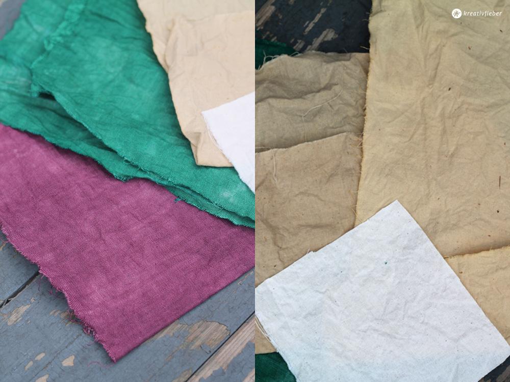 Baumwolle färben