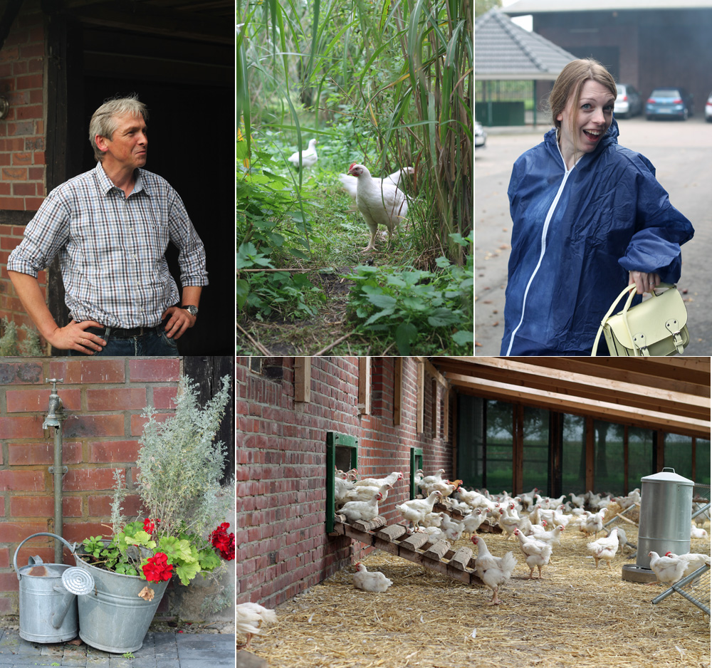 Erkunden des Bauernhofs