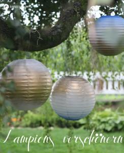 Lampions verschönern DIY