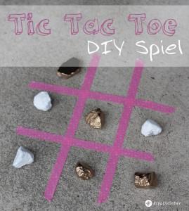 Tic Tac Toe DIY Spiel selberbasteln