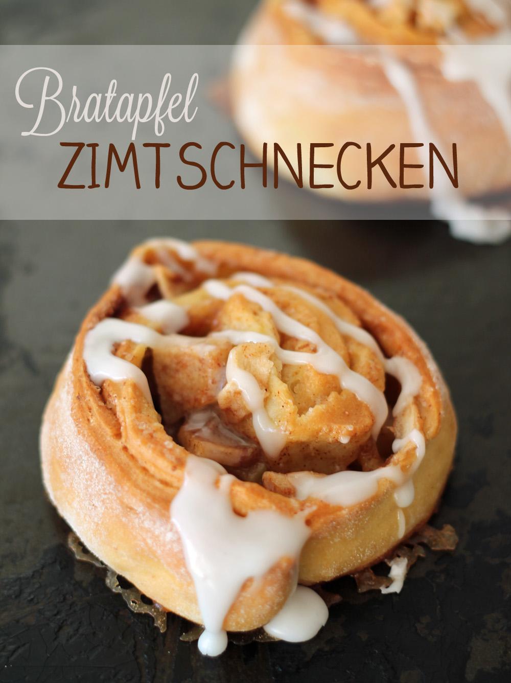 Bratapfel Zimtschnecken Rezept