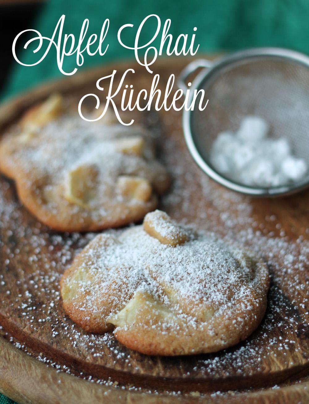 Simple Apfel Chai Küchlein vom Blech - Schnelles Rezept