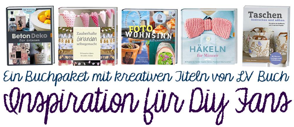 Buchpaket-mit-DIY-Büchern-von-LV-Buch-zu-gewinnen