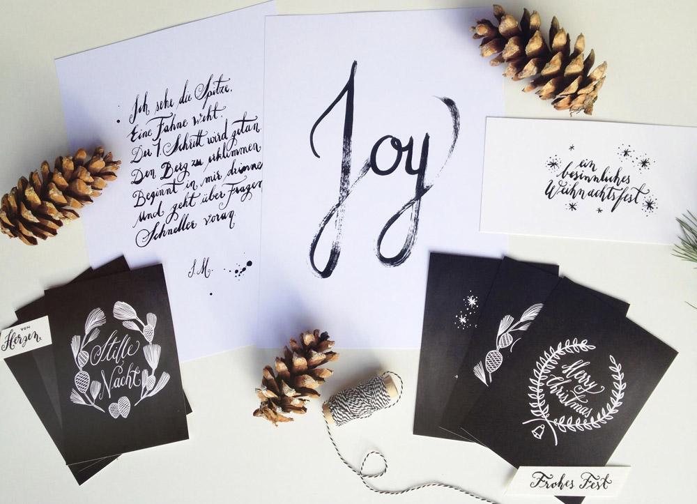 Jeannette Mokosch Prints und Handlettering