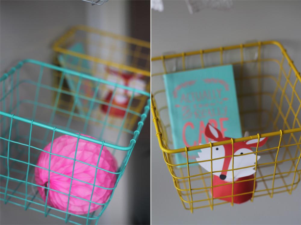Körbe auhängen mit Tesa Powerstrips Transparent