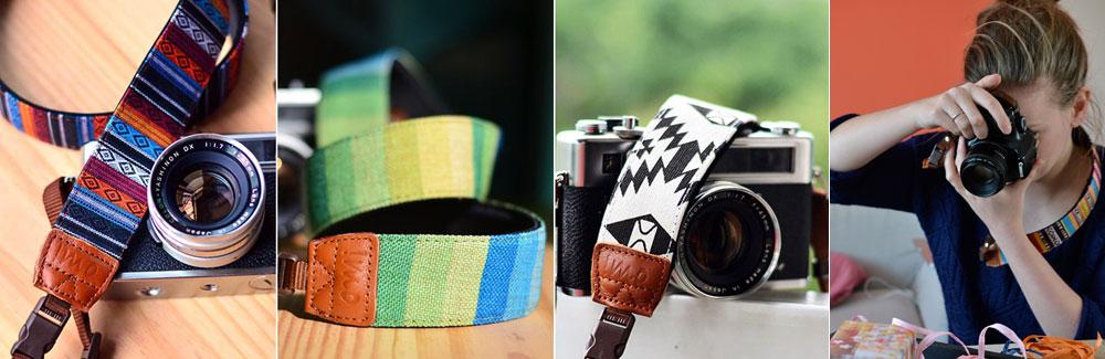 Kreative Kameragurte Geschenkidee für Fotografen Klickklickzoom
