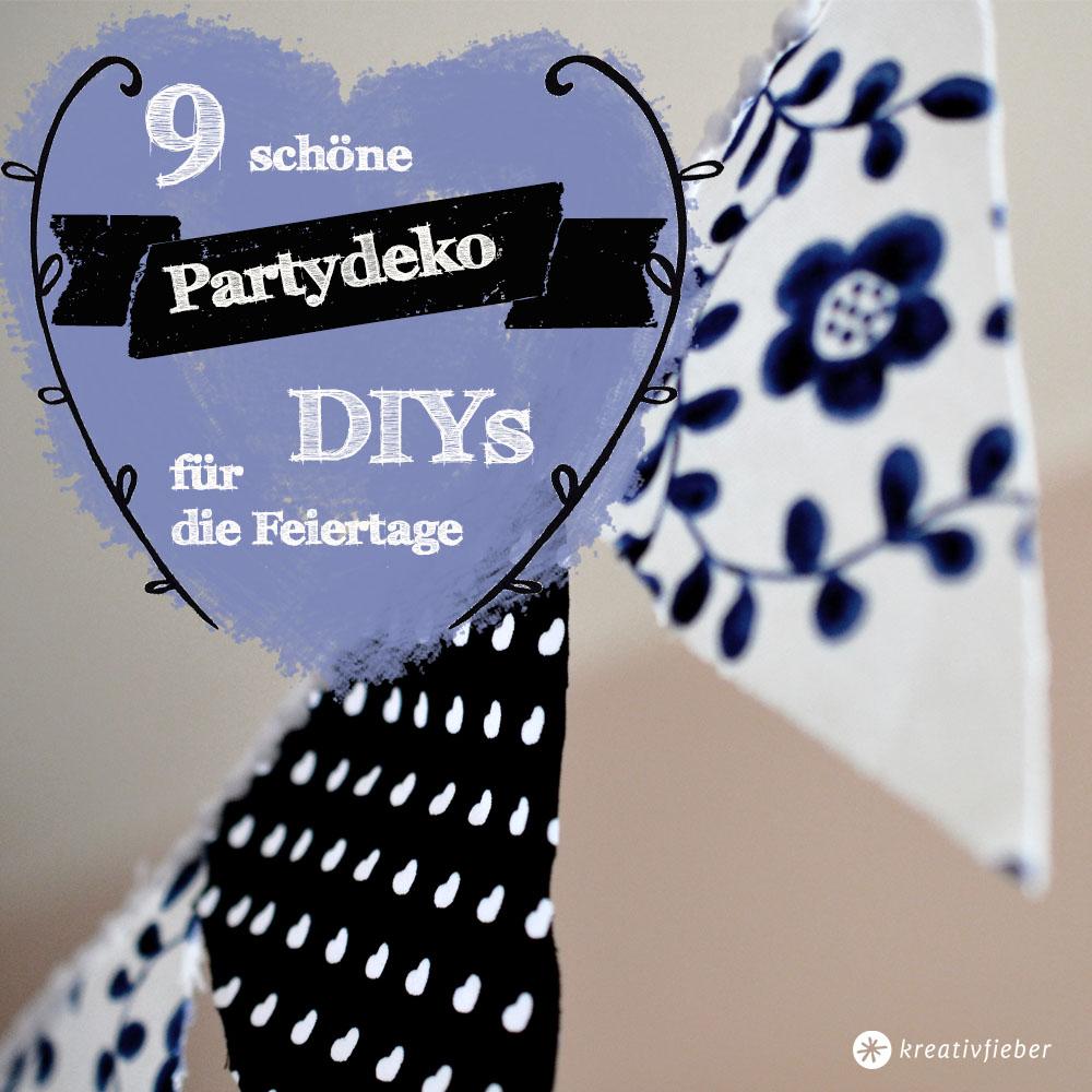 9 schöne partydeko diys