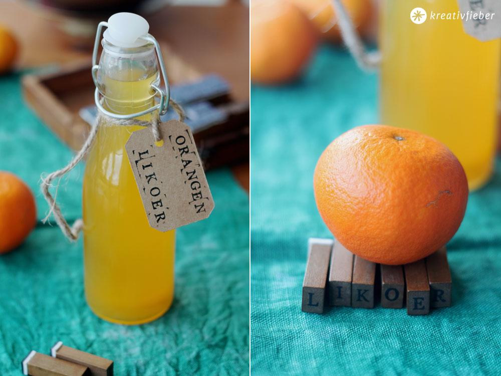 Orangenlikoer-selbermachen