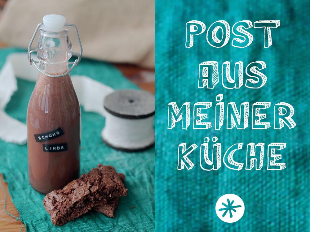 Schokoladenlikör selbermachen - Geschenke aus der Küche
