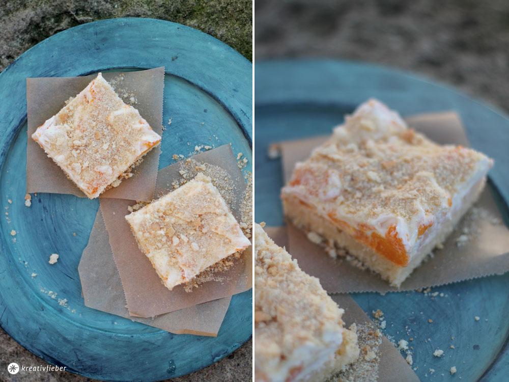 Ananas-Mandarinen-Schnitten-Blechkuchen-Rezept