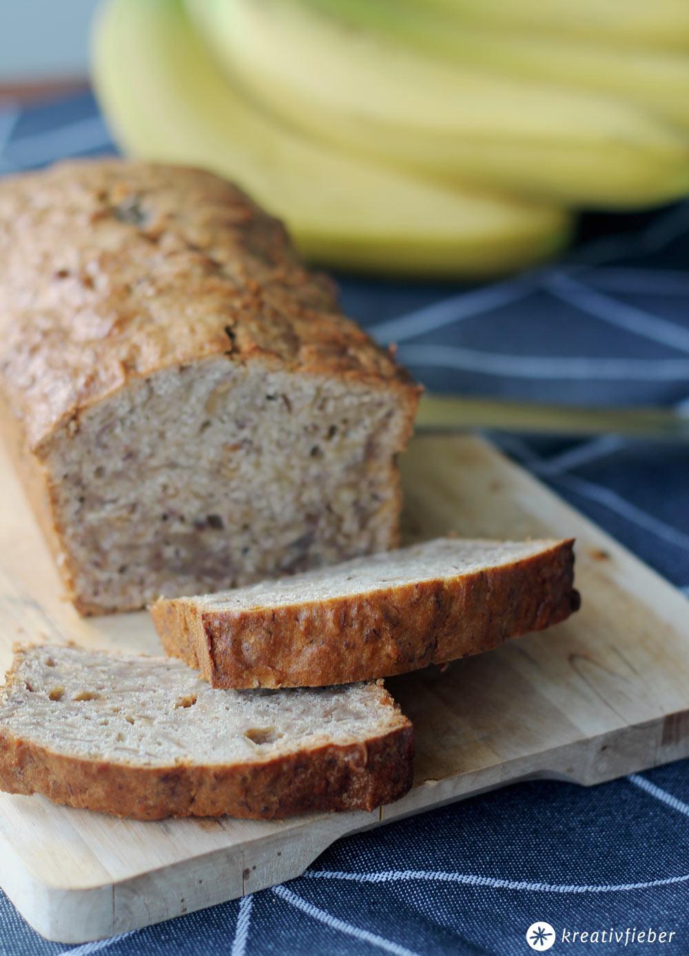 Bananen Nuss Brot Mit Honig Rezept