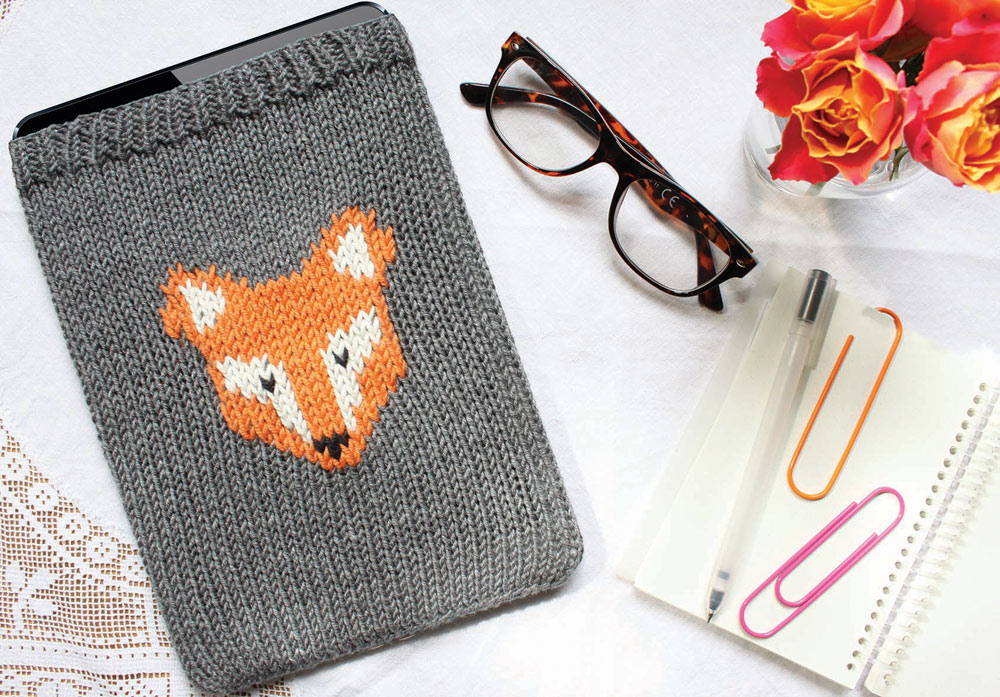 Tablet-Hülle-Fuchs-Simple-Stylish-Stricken