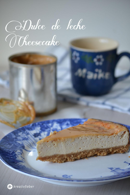 cheesecake mit dulce de leche