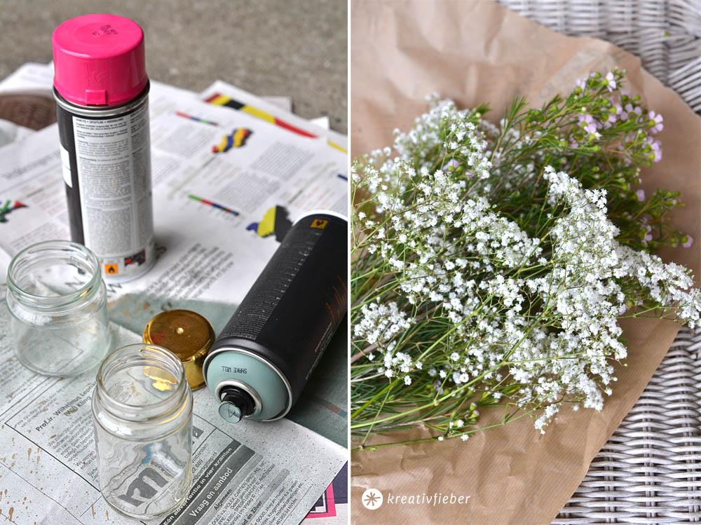 Hochzeitsdeko vasen selbermachen