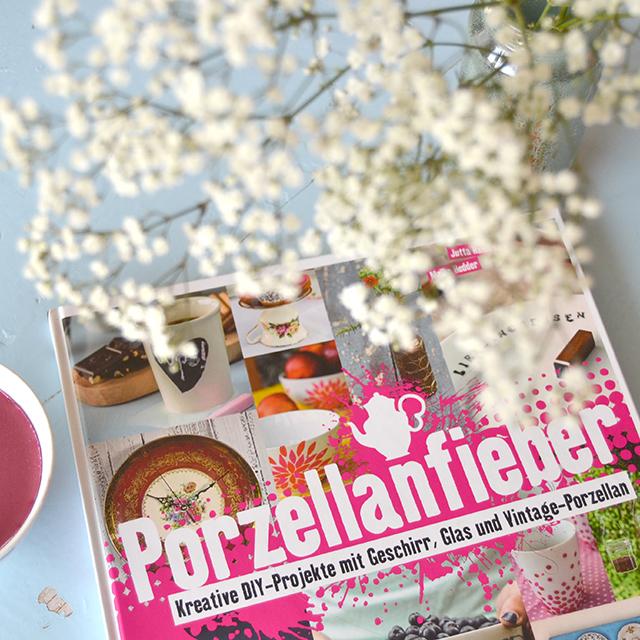 Porzellanfieber DIY Buch Gewinnspiel Give Away