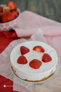 Erdbeer Torte Mascarpone Creme